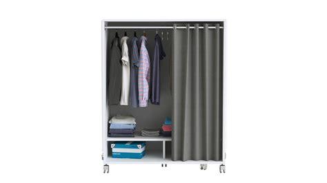 Kleiderschrank Mit Vorhang by Kleiderschrank Mana Schrank Garderobenschrank Wei 223 Mit