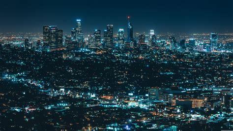 Luminous City (los Angeles) 4k Ultrahd Wallpaper