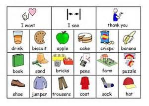 Sign Language Pecs Autism