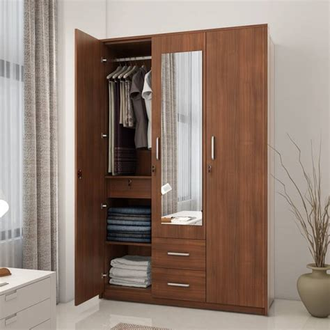 Brown Wood Wardrobe by Shopping India Buy Mobiles Electronics