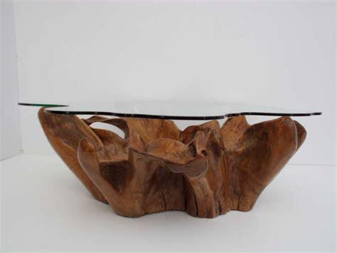 teak root coffee table stunning vintage teak root coffee table with custom cut