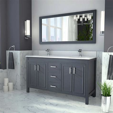 New Double Bathroom Vanity : Top Bathroom   Ideas To