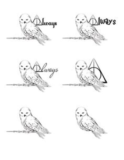 Amazing Tattoo Design Ideas for All Die-hard Harry Potter