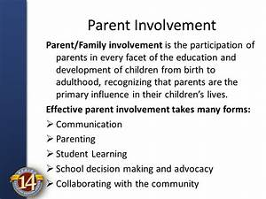 Valuing Parents in Education - ppt video online download