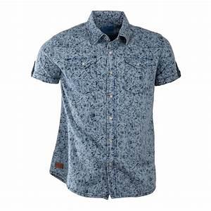 Chemise Homme Motif Original : chemise motif floral manches courtes homme biaggio prix ~ Nature-et-papiers.com Idées de Décoration