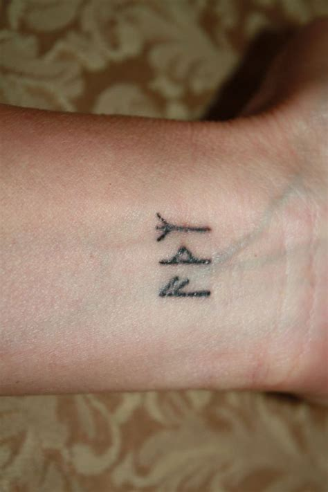 Rune Tattoos I Had Done In Saigon Ansuz, Thurisaz, Algiz