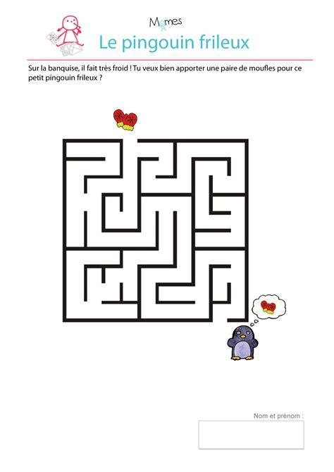 jeux de cuisine pingouin le labyrinthe du petit pingouin frileux momes