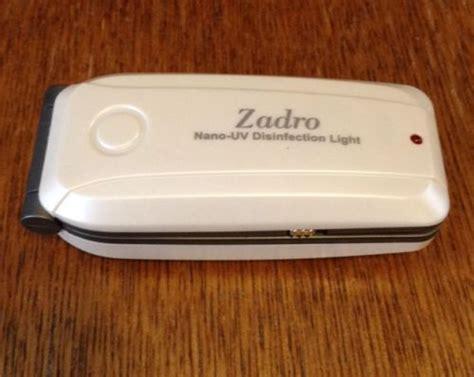 Zadro Nano UV Disinfectant Scanner ultraviolet Sanitizer