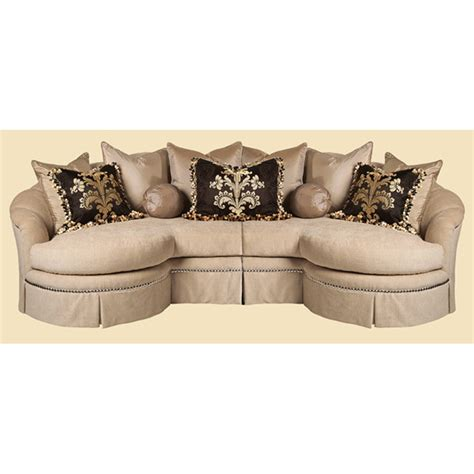 marge carson sofa sectional marge carson nausec mc sectionals nautilus sectional