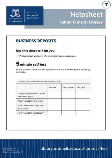 business management report examples  examples