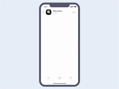 Phone Animated Messenger Ui Multitasking Mobile Animation