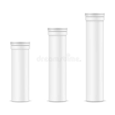 Free for personal and commercial use zip file includes: Plastic Tablets Tube Mockup - Front View Stock Vector ...