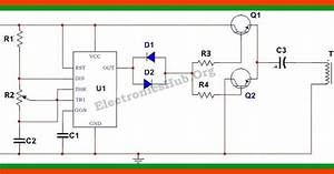 Circuit Diagram Of 12v Dc To 220v Ac Converter