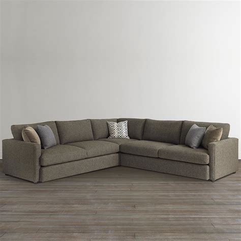 Allure Large L Shaped Sectional by Bassett Kloss