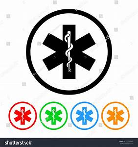 Snake And Staff Rod Of Asclepius Medical Icon - Raster ...