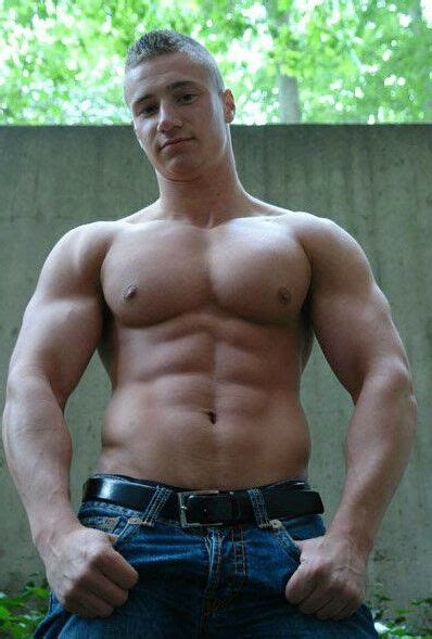 shirtless beefcake masculine hunk chest arms 4x6 p1387 ebay