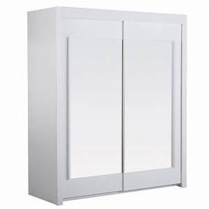 Armoire Blanche 2 Portes : essentielle armoire blanche 2 portes 2 tag res achat vente armoire de chambre essentielle ~ Teatrodelosmanantiales.com Idées de Décoration