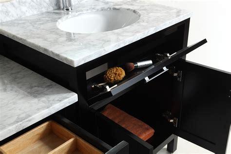 two london stanmark 30 single sink vanity set in espresso