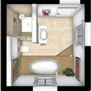 Bad Grundrisse Beispiele : badezimmer planen grundriss minibad in 2019 bad grundriss badezimmer planen und badezimmer ~ Orissabook.com Haus und Dekorationen
