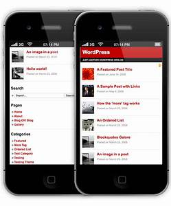 28 High Quality Mobile Themes For WordPress - Hongkiat