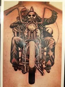 Motorcycle Biker Tattoos | Biker, Biker Tattoo, Biker ...