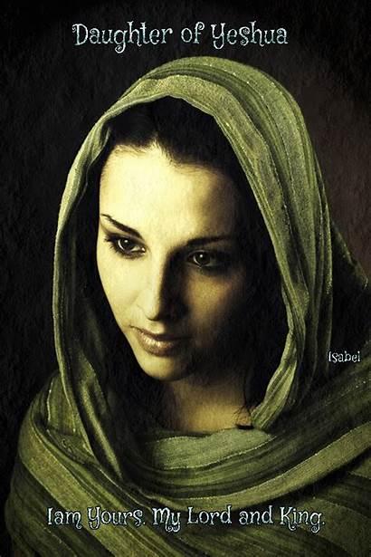 Yeshua Daughter Mary King Feminine Jesus Sacred