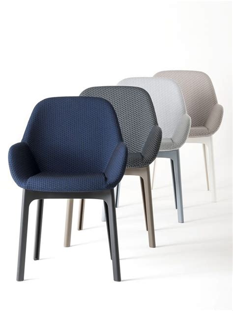 le de bureau kartell clap design kartell armchair padded available in