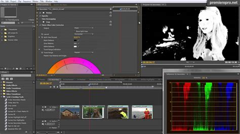 Color Grading And Finishing In Premiere Pro Cs5.5