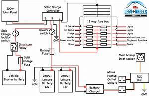 12v Electric System Diagram In Ford Transit Van Conversion