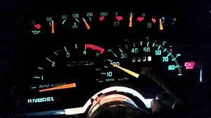 1990 Chevy Truck Needle Gauge Installed
