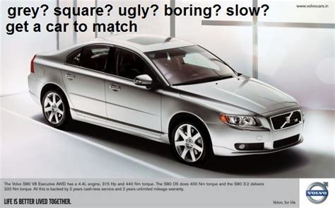 what s the new volvo commercial about if car adverts were honest the poke