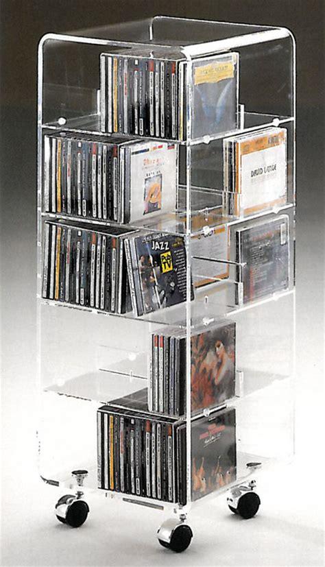 rangement cd plexiglas