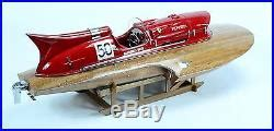 Master craftsmen handcraft these nicely detailed models from scratch using the ferrari hydroplane model comes with a solid wood base and ready to display. Ferrari Hydroplane Natural Finish 32 Handmade Wooden ...