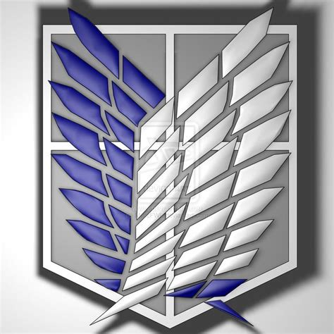 shingeki  kyojin recon corps symbol  marcfwl