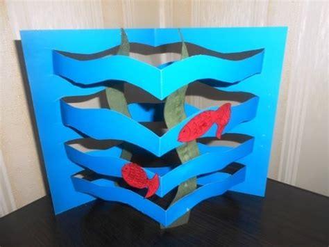 diy paper aquarium  kids easy paper craft ideas