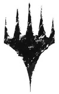 Magic The Gathering Symbols Tattoo