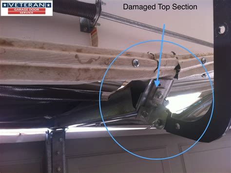 fix  garage door     fix  split