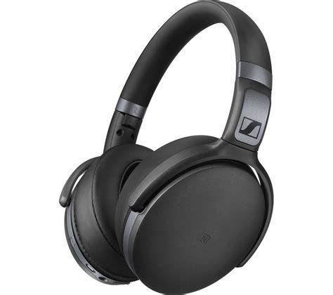 buy sennheiser hd4 40bt wireless bluetooth headphones black free delivery currys