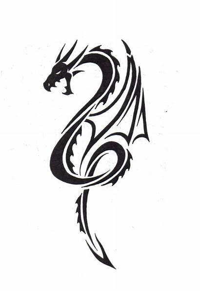 Tribal Dragon Tattoo Designs Awesome Tattoos