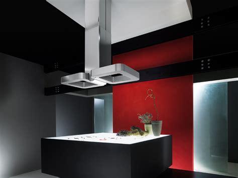 ilot centrale cuisine hottes design visual et wizard d 39 elica inspiration cuisine