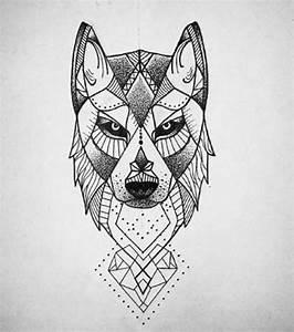 Tatouage Loup Graphique : dessin loup tatouage tuer auf ~ Mglfilm.com Idées de Décoration