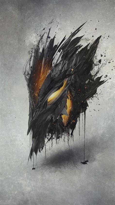 Demon Mask Artwork Ap Wallpaper - [1080x1920]