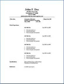 basic resume template word best 25 simple resume template ideas on pinterest simple cv template layout cv and simple cv