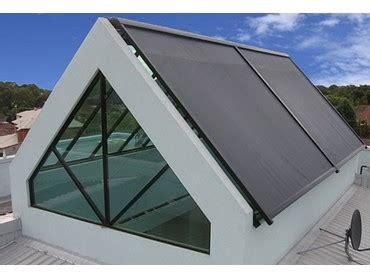 issey glass roof awnings  skylight block sun  heat