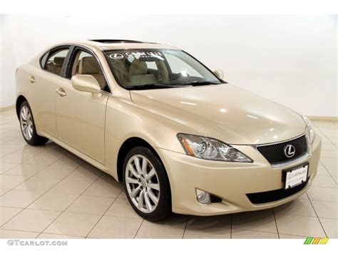 metallic lexus 2008 golden almond metallic lexus is 250 awd 89567005