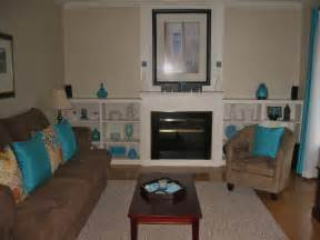 living room in teal and chocolate brown lovely living rooms cobalt blue colors