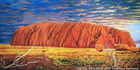 Backdrop Australia by Ayers Rock Backdrops Fantastic Australia