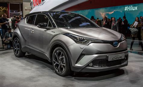 Let's Ride Out 2017 Toyota Chr A Funky Cuv For The