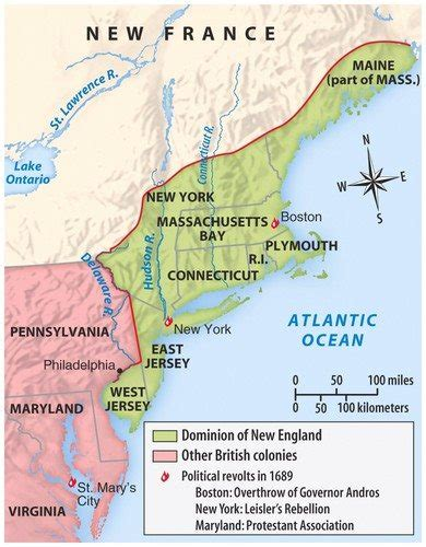 Dominion of New England for APUSH | Simple, Easy, Direct
