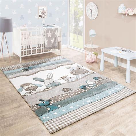 Teppich Kinderzimmer Junge by Kinderteppich Kinderzimmer Konturenschnitt Farm Tiere